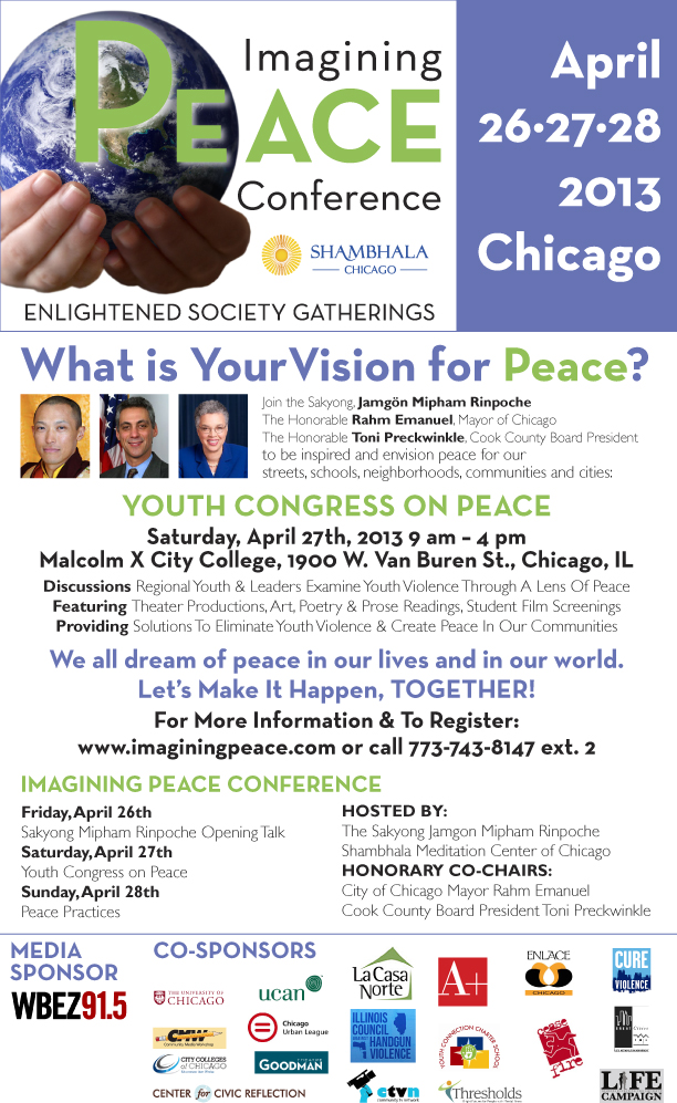 Imaging Peace Conference- April 26th-18th