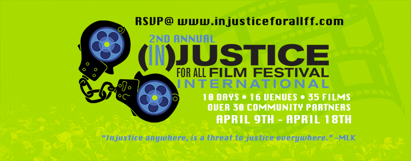 Injustice For All Film Festival Header