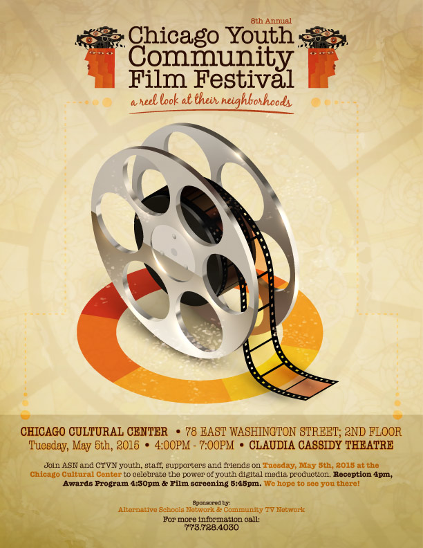 CTVN Chicago Youth Community Film Festival 2015
