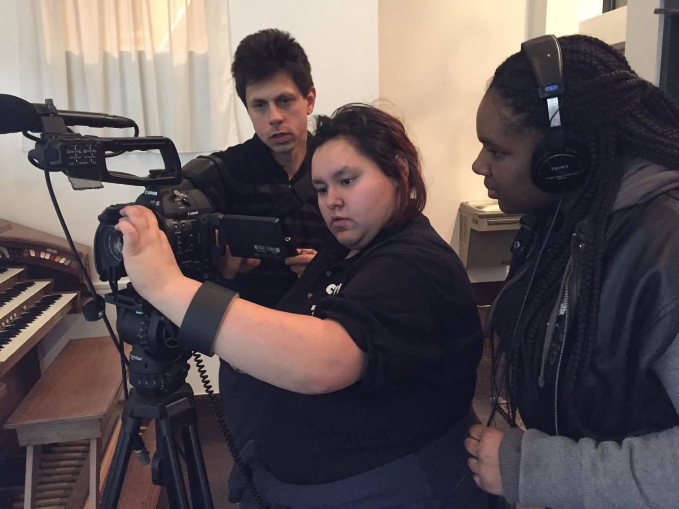 Weekend Shoot Forces CTVN Students to Adapt