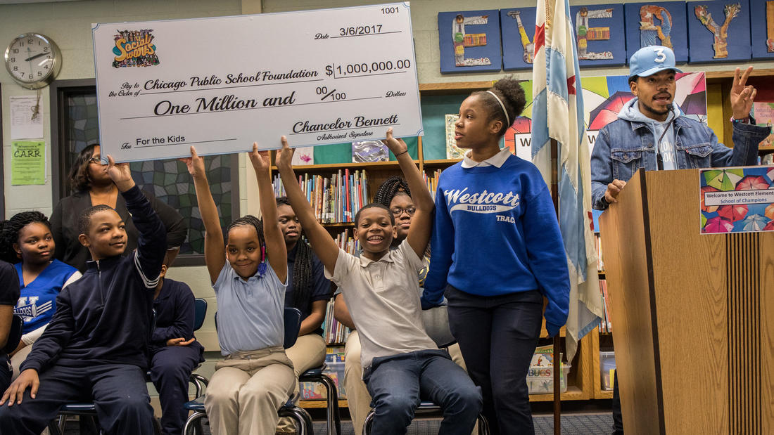 Why Chicago Needs Chance the Rapper's Donation