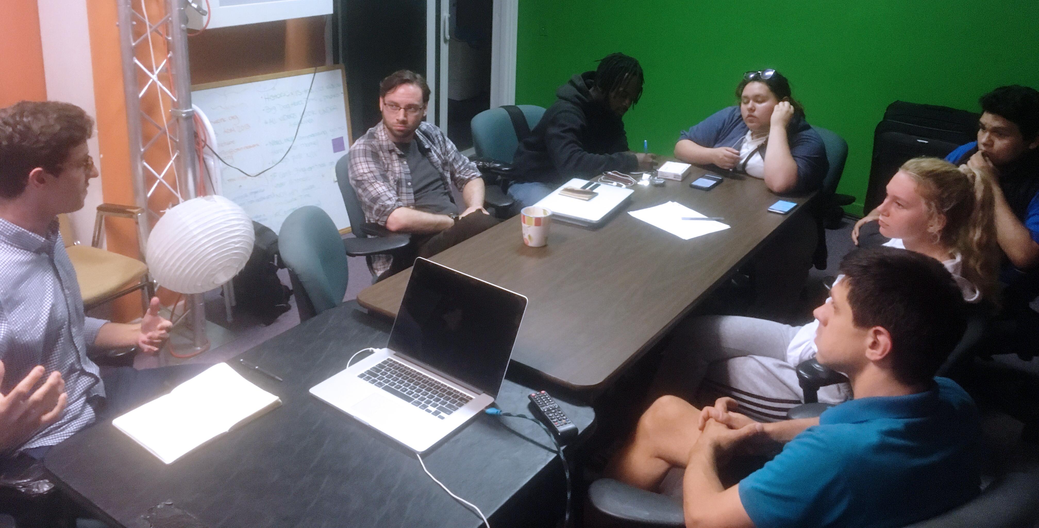 Aron Inachici reel building workshop at CTVN