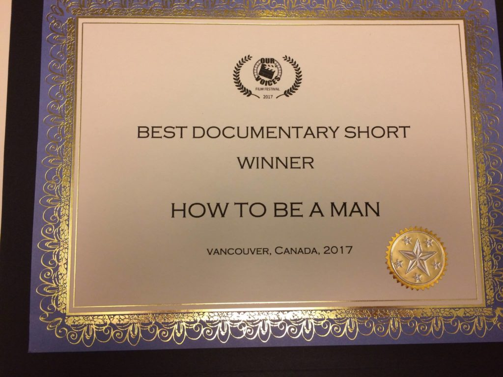 Youth documentary wins award for commentary on sexism